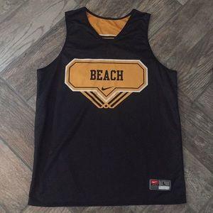 Vintage Nike Reversible Beach Basketball Jersey
